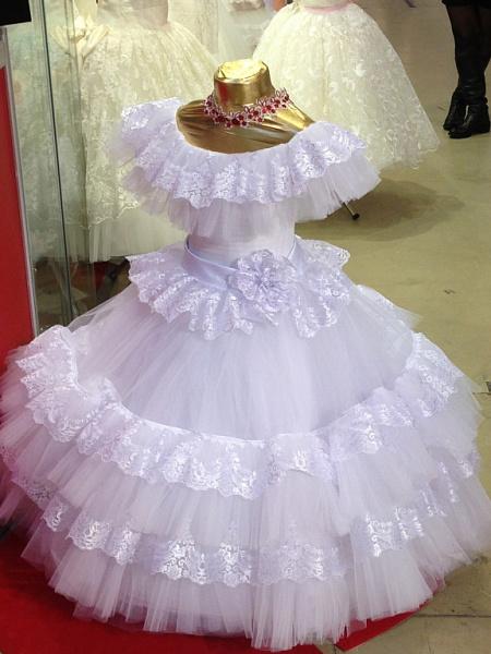 Пышные платья для девочки своими руками